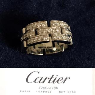 カルティエ(Cartier)のカルティエ  マイヨン パンテール リング ホワイトゴールド(リング(指輪))