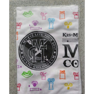 Kis-My-Ft2 - MUSIC COLOSSEUM タオル