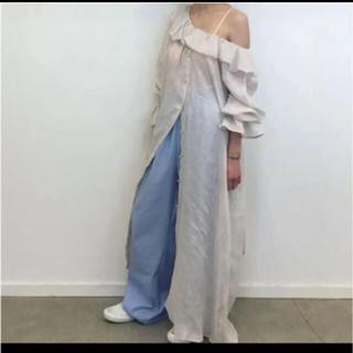 EDIT.FOR LULU - 新品 baserange suzanne dress リネンワンピース roku