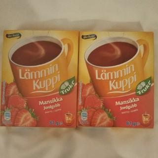 北欧 イチゴスープ2箱(菓子/デザート)