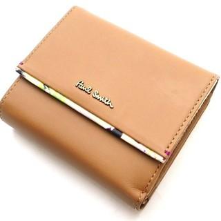 ポールスミス(Paul Smith)の新品 コンパクト財布 ポールスミス ベージュ(財布)