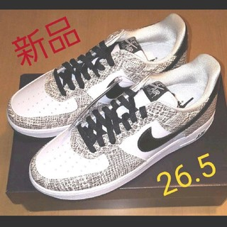 NIKE - NIKE AIR FORCE 1 LOW COCOA SNAKE 26.5