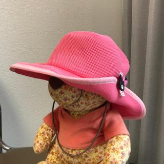 DOUBLE.B - double.b 56cmメッシュ帽子 ピンク