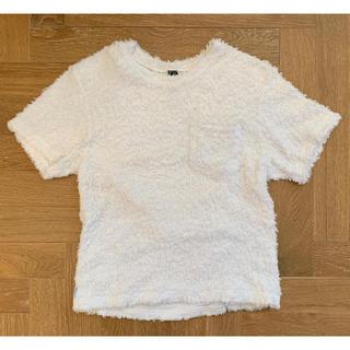 マディソンブルー(MADISONBLUE)のMadisonblue ふわふわパイルTシャツ(Tシャツ(半袖/袖なし))