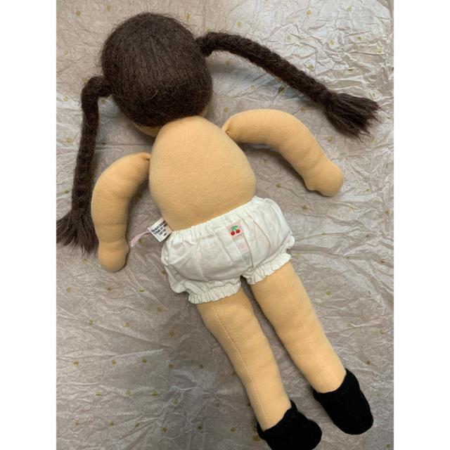Bonpoint(ボンポワン)のお値下げしました。チェリーちゃん 人形 エンタメ/ホビーのおもちゃ/ぬいぐるみ(ぬいぐるみ)の商品写真