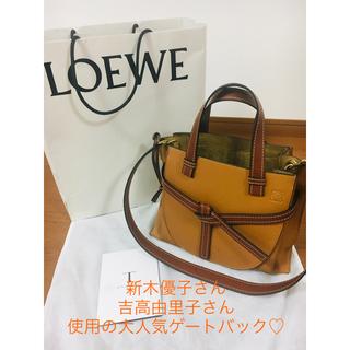 LOEWE - 【LOEWE】ゲートトップハンドルスモールバッグ