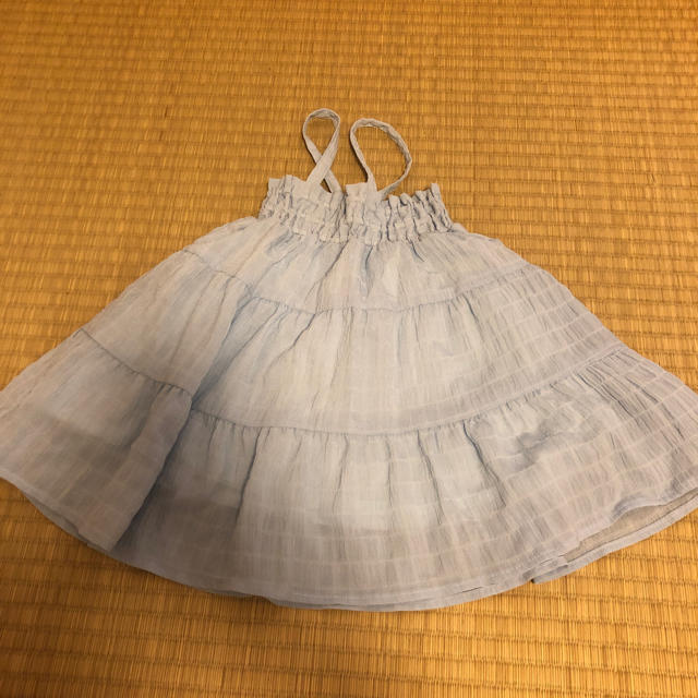 BREEZE(ブリーズ)のベビーキャミワンピース キッズ/ベビー/マタニティのベビー服(~85cm)(ワンピース)の商品写真