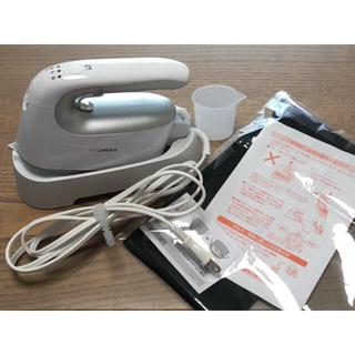 トウシバ(東芝)の東芝 コードレス衣類スチーマー TAS-X4 シルバー(アイロン)