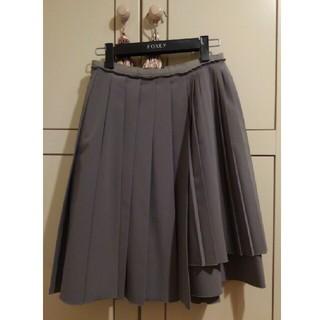 フォクシー(FOXEY)のフォクシーのスカート レイニープリーツ(ひざ丈スカート)