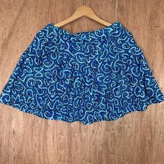 ナイキ(NIKE)の90s NIKE ナイロンスカート 総柄 古着 ビンテージ ショーツ(ミニスカート)