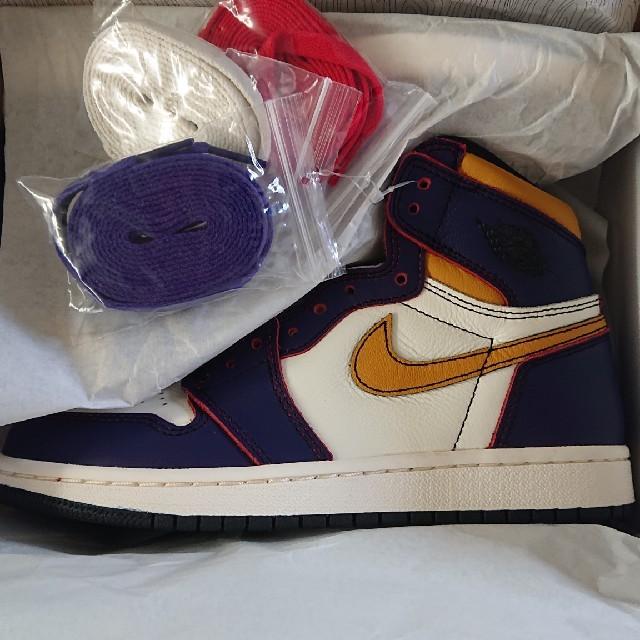 NIKE(ナイキ)のair jordan 1 LA chicago レディースの靴/シューズ(スニーカー)の商品写真