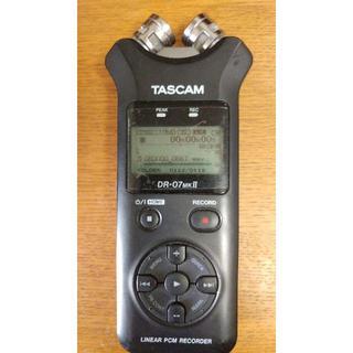 TASCAM リニアPCMレコーダー DR-07MKⅡ 録音機 ボイスレコーダー