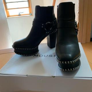 moussy - moussy ウッドソール ブーツ