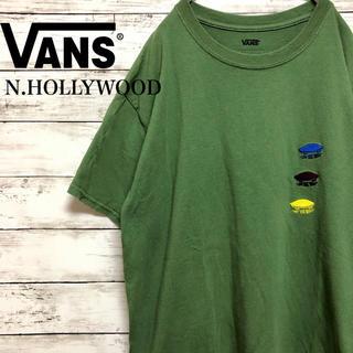 VANS - 【Wネーム】古着 VANS × エヌ ハリウッド コラボ Tシャツ L