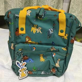 Disney - 日本未発売 ライオンキング リュックサック キッズ 遠足 シンバ ラナ
