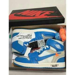 OFF-WHITE - 26cm JORDAN 1 OFF-WHITE AQ0818-148