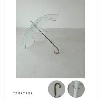 トゥデイフル(TODAYFUL)の新品 todayful  傘(傘)