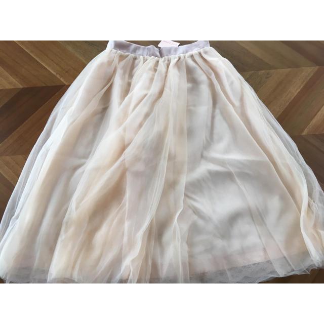 LIZ LISA(リズリサ)のリズリサ チュールスカート レディースのスカート(ひざ丈スカート)の商品写真