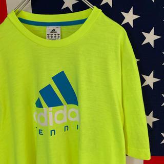 アディダス(adidas)のUSA古着 アディダス Tシャツ M テニス(Tシャツ/カットソー(半袖/袖なし))