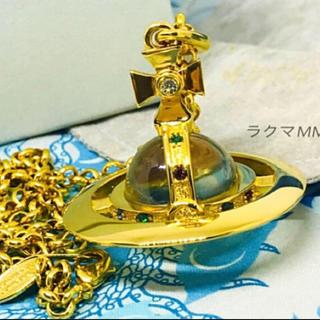 Vivienne Westwood - 旧 スモール オーブ ネックレス/ゴールド