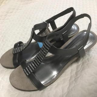 ザラ(ZARA)のアメリカ直輸入28cm28.5cmモデルサイズサンダル大きいサイズのレディース靴(サンダル)
