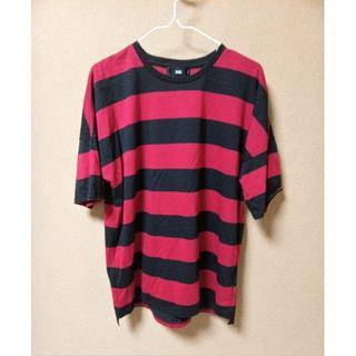 ハレ(HARE)のHARE ビックシルエットシャツ ボーダー(Tシャツ/カットソー(半袖/袖なし))