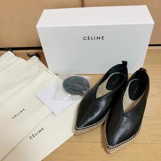 セリーヌ(celine)のCeline セリーヌ ストラップ エスパドリーユ (ローファー/革靴)