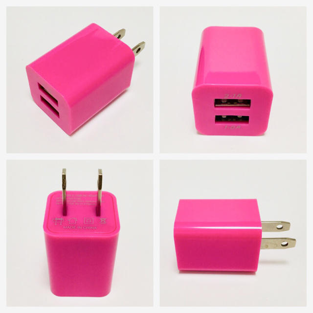 iPhone(アイフォーン)のケーブル 充電器 スマホ/家電/カメラのスマートフォン/携帯電話(バッテリー/充電器)の商品写真