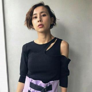 アメリヴィンテージ(Ameri VINTAGE)の新品 ameri ニット(Tシャツ(長袖/七分))
