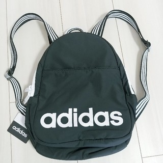 adidas - アディダス ミニリュック 黒 ブラック