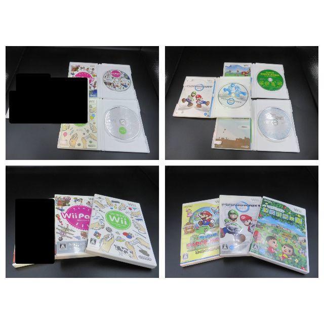 Wii(ウィー)のまとめ Wii ソフト 10本セット どう森 マリオカート MH3 ドラクエ エンタメ/ホビーのゲームソフト/ゲーム機本体(家庭用ゲームソフト)の商品写真
