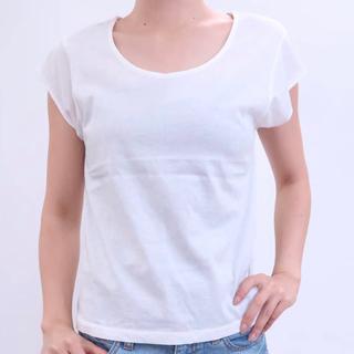 mystic - mystic ミスティック フレンチクルーT Tシャツ ライトグレー