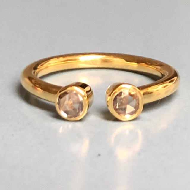 新品 ブラウンダイヤ K18 ピンキーリングに♦︎マリーエレーヌ ジェムパレス レディースのアクセサリー(リング(指輪))の商品写真