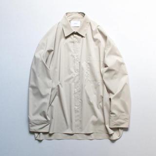 SUNSEA - stein oversized down pat shirt
