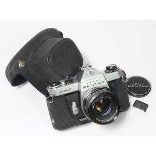 PENTAX - PENTAX SPOTMATIC SPⅡ フィルムカメラ カメラケース付き