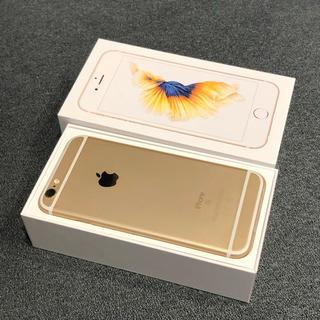 iPhone - SIMロック解除済 iPhone6s Gold 32GB 新品未使用