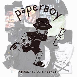ビームス(BEAMS)のpaperboy beams トートバッグ ステッカー×2(トートバッグ)