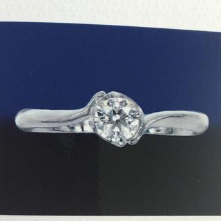 ヨンドシー(4℃)の高品質 婚約指輪(私的な刻印なし)(リング(指輪))