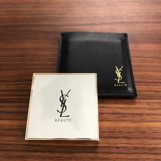 イヴサンローランボーテ(Yves Saint Laurent Beaute)の新品Yves Saint Laurent ノベルティ鏡(ミラー)