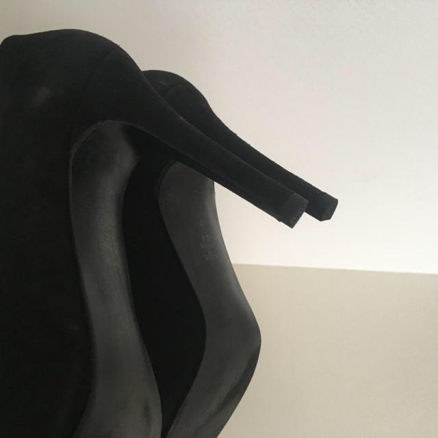 DIANA(ダイアナ)のダイアナ DIANA 黒パンプス レディースの靴/シューズ(ハイヒール/パンプス)の商品写真