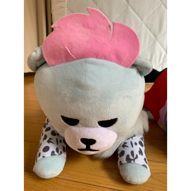 BIGBANG(ビッグバン)のBIGBANGぬいぐるみ エンタメ/ホビーのおもちゃ/ぬいぐるみ(ぬいぐるみ)の商品写真