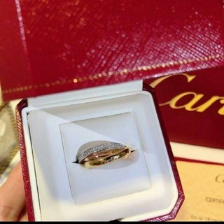 Cartier - カルティエ トリニティ リング