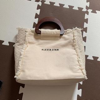 ALEXIA STAM - ALEXIA STAM  Wooden Handle Tote Bag