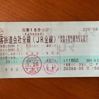 ジェイアール(JR)のあいみん様専用(鉄道乗車券)