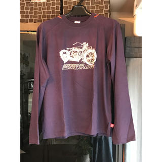 インディアン(Indian)の新品タグ付き  インディアンモトサイクル メンズロングTシャツ(Tシャツ/カットソー(七分/長袖))