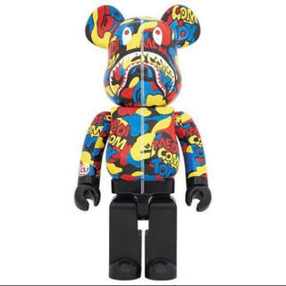 MEDICOM TOY - BAPE CAMO SHARK BE@RBRICK 1000% ベアブリック