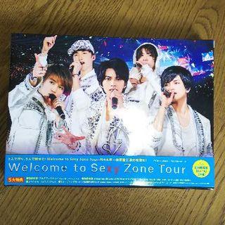 セクシー ゾーン(Sexy Zone)のWelcome to Sexy Zone Tour【Blu-ray】 (アイドル)