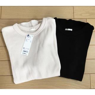 GU - ☆Gu ワッフルTシャツ2枚☆