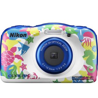 Nikon - 新品未使用☆ COOLPIX W100 マリン