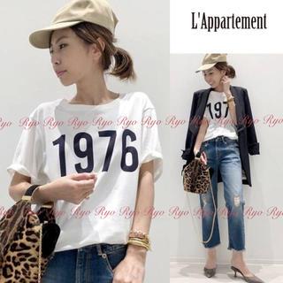 L'Appartement DEUXIEME CLASSE - 18SS★1回美品⭐️アパルトモン/アメリカーナ別注/1976 Tシャツ